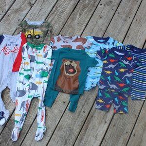 Carters 12 Month Pajama LOT